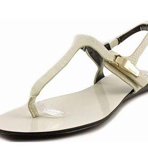 Calvin Klein Sydney Sandal Cream-NEW